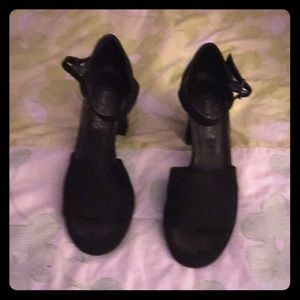 Anne Klein strap heels
